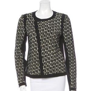 DVF Textured Patricia Jacket Blazer 10 [B2]